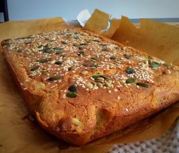 Пченкарен леб со лути пиперчиња