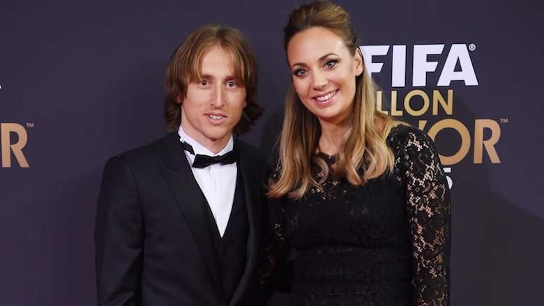 Luka Modric Frau