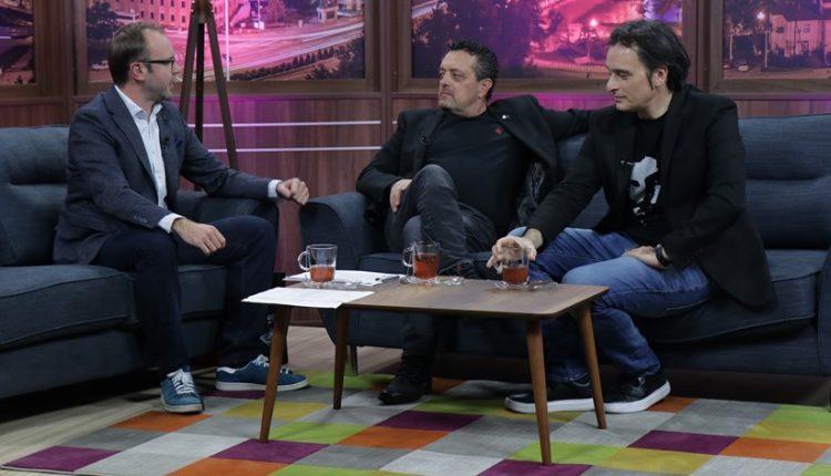 """Ми фали Груевски како глумец: Дац и Митевски во """"Еден на Еден"""" кај Жаре"""